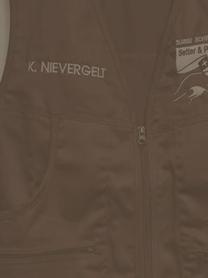 vest with zipper black